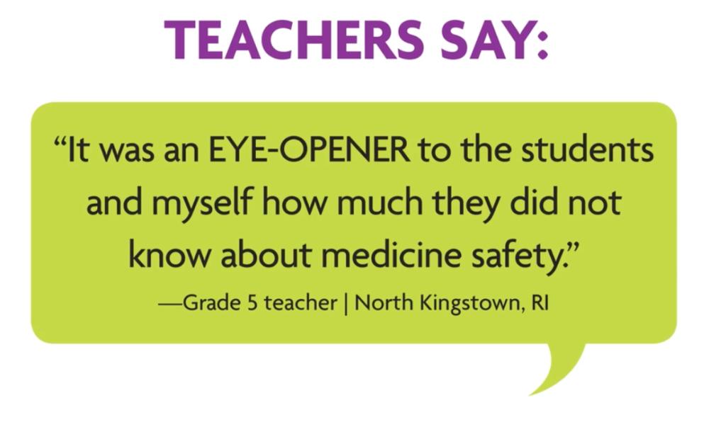 Teachers say: